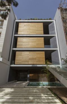 Sharifi-ha House  / Nextoffice - Alireza Taghaboni #Pin_it @mundodascasas