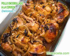 Garlic Brown Sugar Baked Chicken with Caramelized Onions - Healthy Recipes! Brown Sugar Chicken, Ginger Chicken, Easy Baked Chicken, Baked Chicken Recipes, Chicken Meals, Cooking Recipes, Healthy Recipes, Protein Recipes, Chicken Seasoning