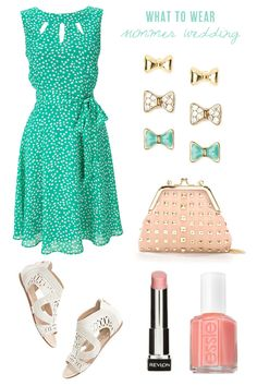 What to wear to a summer wedding from The Sweetest Occasion