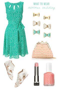 Sweet dress.