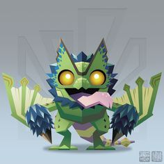 monster hunter world legiana fan art - Google 検索
