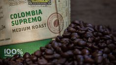 Sip Columbia Supremo! ROAST: Medium FLAVOR: Vibrant, Floral-Sweet Aromatics, Toasted Hazelnut ORIGINS: South America  We fell in love with the sweet, creamy body and nutty finish of these beans from a mountain district in Popayan and hope that you enjoy the rich flavor, mild acidity and bold aromatics of this medium roast coffee.
