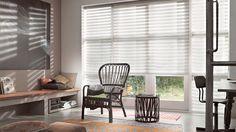 Laat u inspireren door Luxaflex® raamdecoratie. Twist® Rolgordijnen. www.cdinterieurs.nl