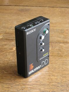 Sony Walkman DD (1982)  my first one , and it was so expensive
