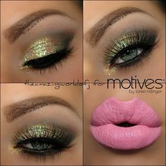 Another look at #theamazingworldofj gorgeous look. #motivescosmetics