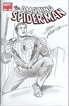 Peter Parker / Spider-man - Amazing Spider-man John Romita Sr Comic Art
