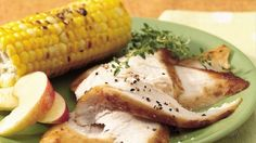 Yearning for fall flavors? Turn to the grill to make juicy turkey coated with a luscious--and easy--glaze based on prepared apple butter.