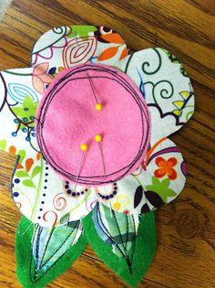 Scribble Flower {felt contributor}