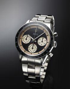 "6241 PAUL NEWMAN STEEL Rolex, ""Oyster Cosmograph Daytona"""