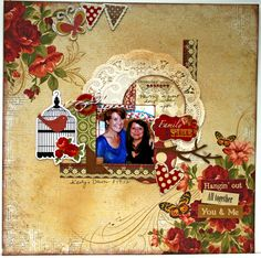 Family Time  **Ruby Rock-It - Scrapbook.com