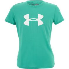 Under Armour® Girls' Big Logo Tech T-shirt