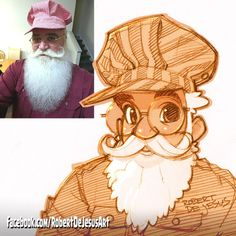 American artist Robert DeJesus continues to transform strangers' photos into anime versions of themselves and we thought it's high time to look at his new works Cartoon Cartoon, Photo To Cartoon, Cartoon Sketches, Cartoon Styles, Art Sketches, Sketch Drawing, Character Design References, Character Art, Robert Dejesus