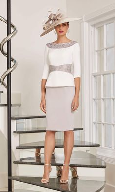 Occasion Spéciale, Mother Of Bride Outfits, Taupe Dress, Everyday Dresses, Ivoire, Special Occasion Dresses, Frocks, Lace Skirt, Gowns