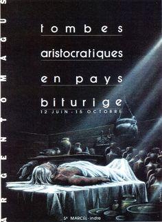 Tombes aristocratiques en pays Biturige.  http://www.argentomagus.fr