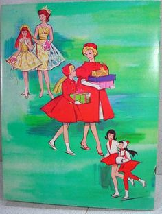 Mint Un-cut Barbie and Skipper Paper Dolls, Whitman, 1964! from fourtyfiftysixty on Ruby Lane..