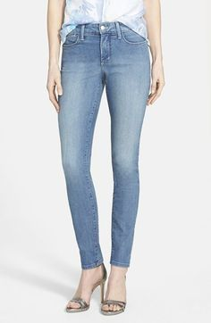 NYDJ 'Ami' Tonal Stitch Stretch Skinny Jeans available at #Nordstrom