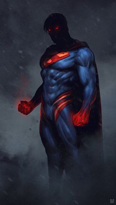 Superman Redesign by Nagy Norbert