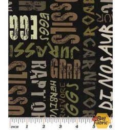 10,000 BC: Dino Lingo Black/Camo - Kanvas 6379-99b