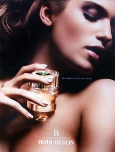 Advert of the fragrance B