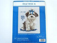Vintage Jeanette Crews Cross Stitch Kit No. 1224-DW-K Deal