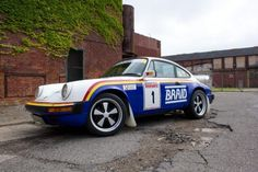 911 Makes A Perfect RallyCross Car