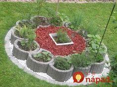 Skrášlia každú záhradu: 21 nápadov na čarovné záhradné ostrovčeky, ktoré vás budú tešiť celú sezónu! Garden Pool, Herb Garden, Vegetable Garden, Garden Plants, Outdoor Planters, Outdoor Gardens, Home Flowers, Raised Garden Beds, Yard Art