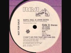 """Rare 12"""" Classic Hall & Oates - I Can't Go For That Rare 12 Inch Mix (1981) classic joint"""