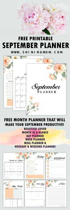 40 ideas wall collage art free printable for 2019 Daily Planner Pages, Planner Tips, Free Planner, Planner Layout, Weekly Planner, Happy Planner, Printable Day Planner, Free Printable Calendar, Free Printables