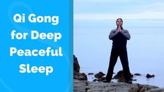 Qigong for Sleep -Deep and Peaceful w/ Jeffrey Chand Qi Gong, Senior Fitness, Yoga Fitness, Tai Chi Moves, Herbs For Sleep, Tai Chi Exercise, Tai Chi For Beginners, Arthritis Exercises, Yoga Exercises