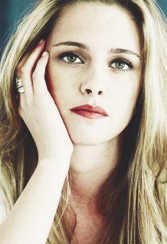 Kristen Stewart, looking very different