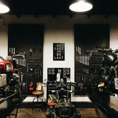 Motorbike workshop