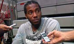 2013 Summer Kawhi Leonard San An tonio Spurs