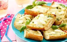 Grilované topinky se sýrem