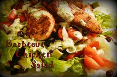 Colleen's Kitchen: BBQ Chicken Salad