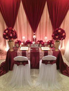 #tablescape #xmas2015 #christmaswedding #christmasdecor #christmastheme #cranberry #blush #kawanodecordesign