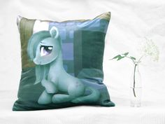 Items similar to MLP Marble Pie Pillow Cover 40 x 40 cm on Etsy Marble Pie, Mlp, My Little Pony, Pillow Covers, Pillows, Fabric, Cute, Pictures, Etsy