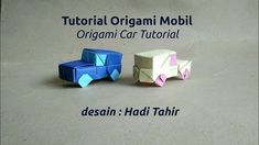 How to Make Origami Car (with color-change)
