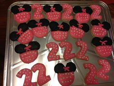 Minnie Mouse Cookies!