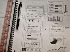 Dribbble - Dashboard sketch by Kerem Suer
