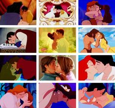 Disney Love Tangled and Little Mermaid are the BEST! Disney Kiss, Disney Couples, Disney Fan Art, Disney Magic, Disney Marvel, Disney And More, Disney Love, Disney Stuff, Disney And Dreamworks
