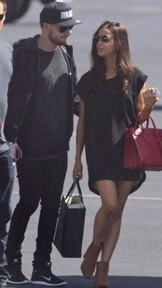 They look perfect. I love her style - Sophia Smith and Liam Payne - September 2014