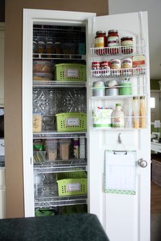 Kitchen Organization Ideas Small Spaces | ... your space functional and cute does not have to cost a lot of money