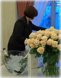 Pol, flowers and Nana