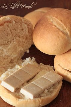 Pains pistolets belges. My favorites and how I miss them. Had them for breakfast many times ♥