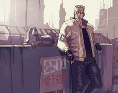 Batou, Ghost in the Shell