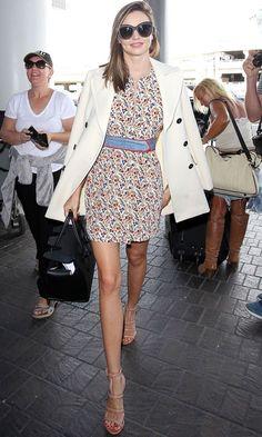 Miranda Kerr Works The Waist Belt Trend