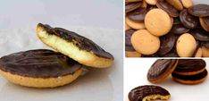 Jaffa cakes: Η τέλεια συνταγή για να φτιάξετε τα διάσημα μπισκοτο-κεκάκια με πορτοκάλι και σοκολάτα Pear Recipes, Candy Recipes, Cookie Recipes, Biscuit Cupcakes, Cupcake Cakes, Chocolate Sweets, Delicious Chocolate, Cookie Desserts, Fun Desserts