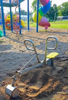 We manufacture the playgroundride on sand digger scooper.