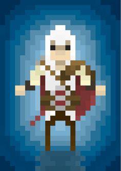 Pixel Art by Mark Pons, via Behance