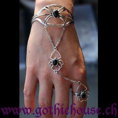 Black+Spider Black Spider, Alex And Ani Charms, Bracelets, Jewelry, Fashion, Bangles, Jewellery Making, Moda, Jewels